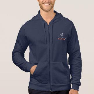 Sweatshirt de marine de nation de Pantsuit,
