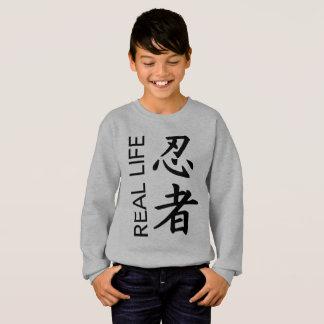 """Sweatshirt de """"Ninja"""" de vie réelle de garçons"""