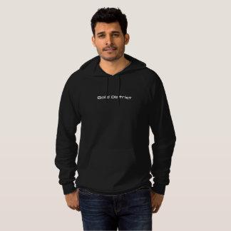 Sweatshirt de noir de secteur d'or