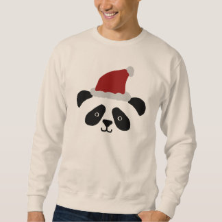 Sweatshirt de panda de Père Noël