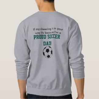 Sweatshirt de papa du football