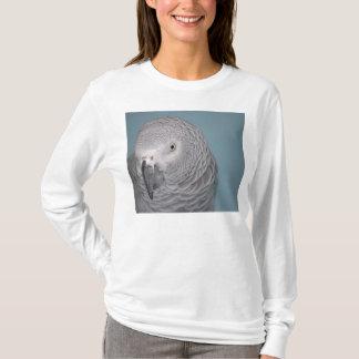 Sweatshirt de perroquet de gris africain