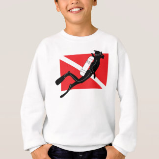 Sweatshirt de piqué de SCAPHANDRE