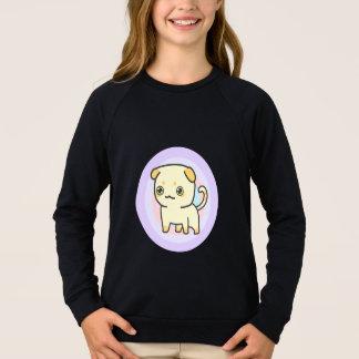Sweatshirt de raglan de l'habillement des filles