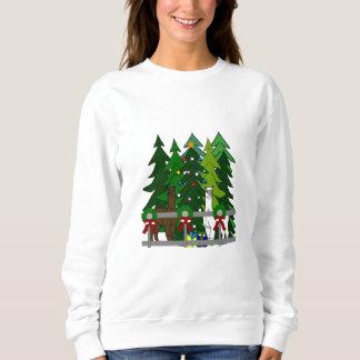 Sweatshirt de roche d'alpaga