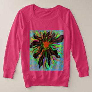 Sweatshirt de Terry de Français du Plus-Size des