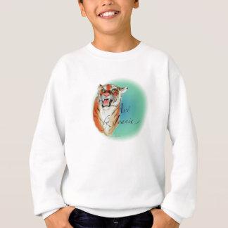 Sweatshirt de tigre