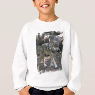 Sweatshirt de vagabondage de la jeunesse de loup