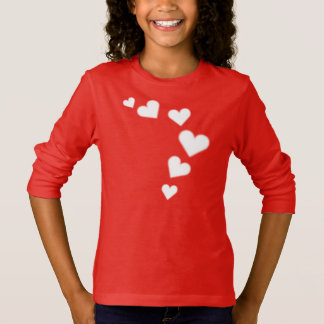 Sweatshirt de Valentine de l'enfant de la chemise