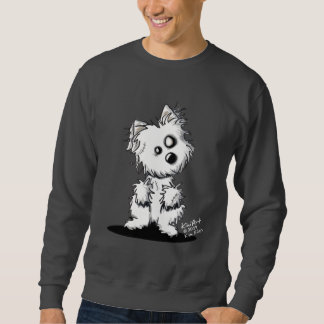 Sweatshirt de Westie de zombi