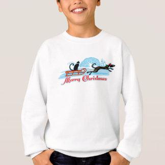Sweatshirt Défilé d'animal familier de Noël