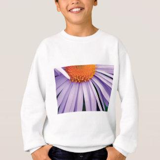 Sweatshirt demi d'art de fleur