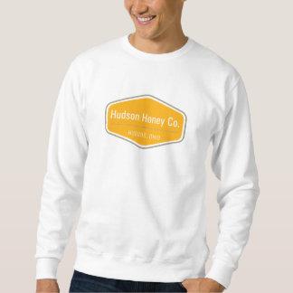 Sweatshirt d'encolure ras du cou de miel du Hudson