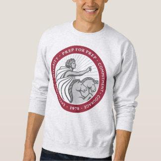 Sweatshirt d'encolure ras du cou du logo des