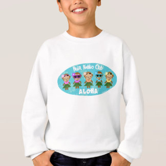 Sweatshirt d'enfants de club de singe de danse
