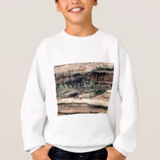 Sweatshirt désert blanc repéré