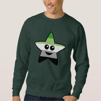 Sweatshirt d'étoile d'Aromantic