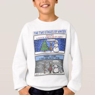 Sweatshirt Deux étapes d'hiver