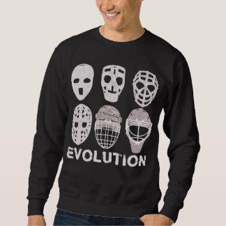 Sweatshirt d'évolution de masque de gardien de but