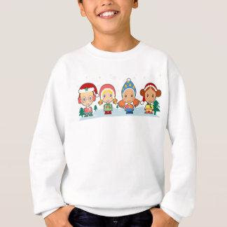 Sweatshirt d'hiver pour des enfants - portez-le