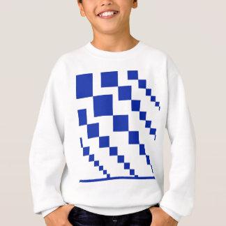 Sweatshirt Diamants descendants bleus audacieux