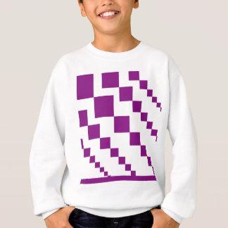 Sweatshirt Diamants descendants pourpres