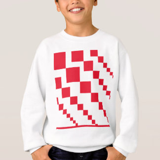 Sweatshirt Diamants descendants rouges