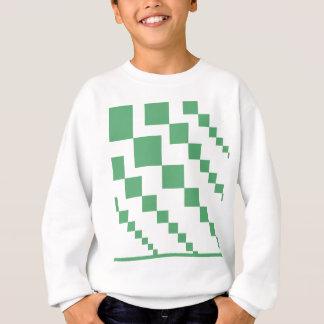 Sweatshirt Diamants descendants verts