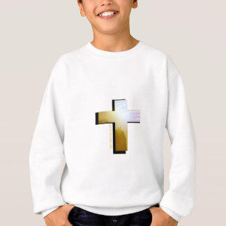 Sweatshirt Dieu aime toute la croix