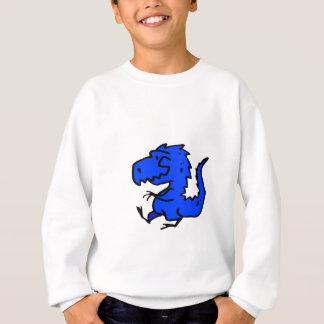 Sweatshirt Dino bleu