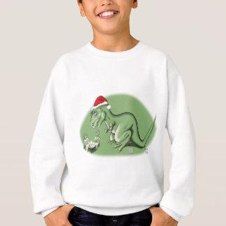 Sweatshirt Dinosaure de Noël chez Manger