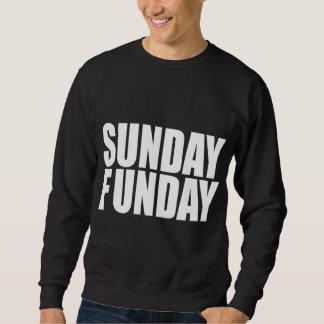 Sweatshirt d'obscurité de dimanche Funday