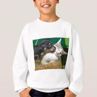 Sweatshirt Dog and cat