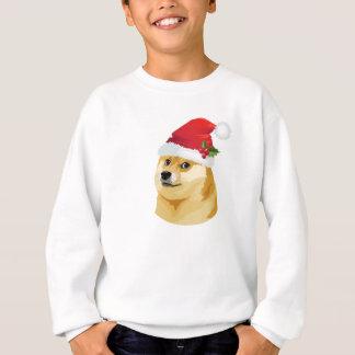 Sweatshirt Doge de Noël - doge de père Noël - chien de Noël