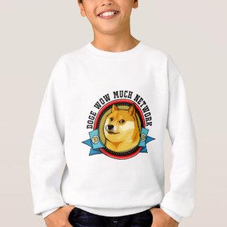 Sweatshirt Doge Shibe wow beaucoup d'emblème de réseau