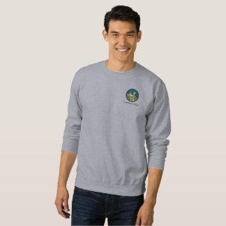 Sweatshirt d'ouatine avec le logo