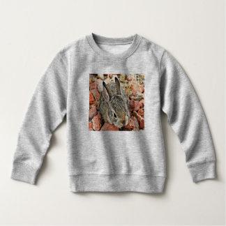 Sweatshirt d'ouatine de lapin de bébé