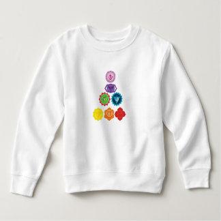 Sweatshirt d'ouatine d'enfant en bas âge de sept