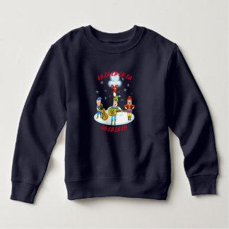 Sweatshirt d'ouatine d'enfant en bas âge d'elfes