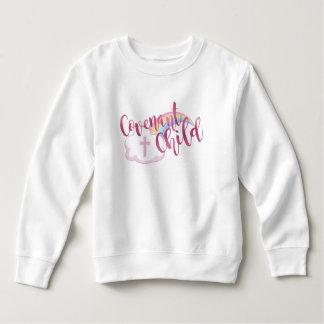 """Sweatshirt d'ouatine d'enfant en bas âge """"d'enfant"""