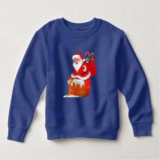 Sweatshirt d'ouatine du père noël de Noël