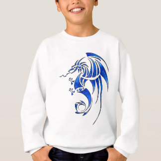 Sweatshirt Dragissous V1 - dragon bleu