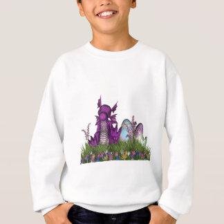 Sweatshirt Dragon de bébé de surprise de Pâques