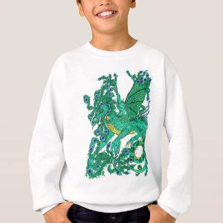 Sweatshirt Dragon de paon