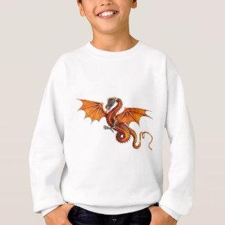 Sweatshirt dragon-orange