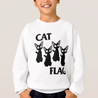 SWEATSHIRT DRAPEAU 2 DE CAT