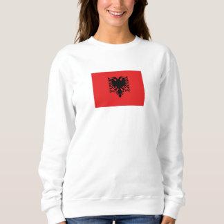 Sweatshirt Drapeau albanais patriotique