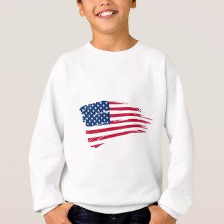 Sweatshirt Drapeau américain
