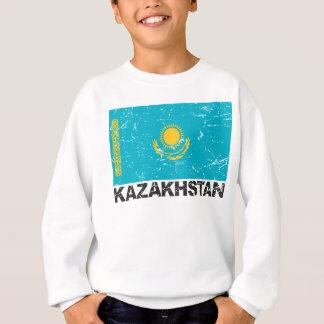 Sweatshirt Drapeau de cru de Kazakhstan