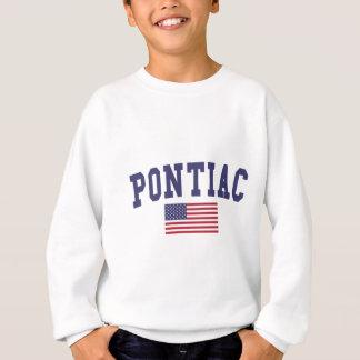 Sweatshirt Drapeau de Pontiac USA
